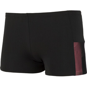speedo Mesh Panel Aquashorts Herre black/lava red